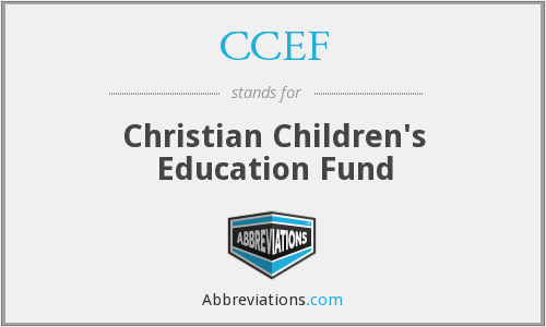 CCEF - Christian Children's Education Fund