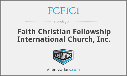 What does FCFICI stand for?