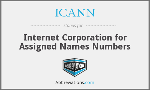 ICANN - Internet Corporation for Assigned Names Numbers