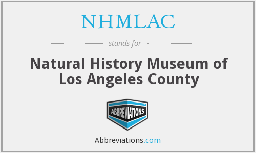 NHMLAC - Natural History Museum of Los Angeles County