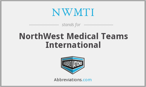 What does NWMTI stand for?