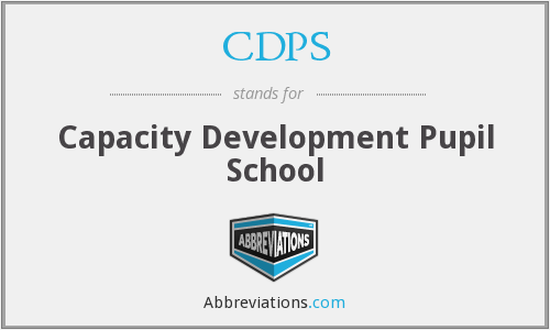 CDPS - Capacity Development Pupil School
