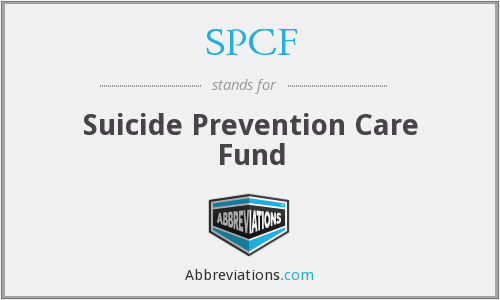 SPCF - Suicide Prevention Care Fund