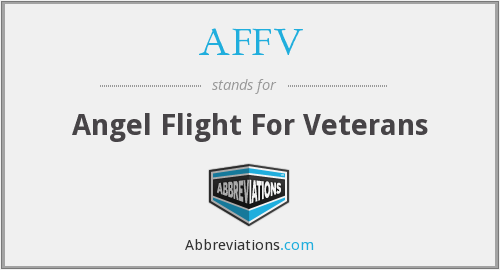 AFFV - Angel Flight For Veterans