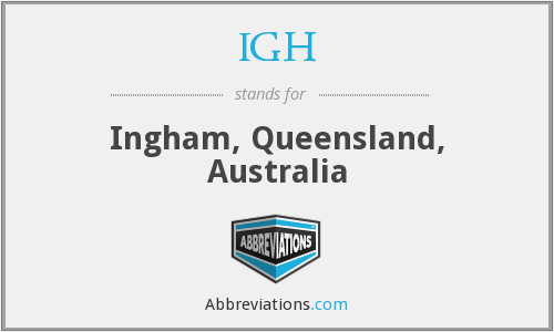 What does IGH stand for?