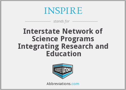 What does INSPIRE stand for?