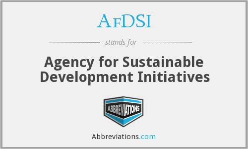 What does AFDSI stand for?