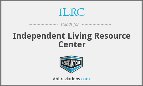 ILRC - Independent Living Resource Center