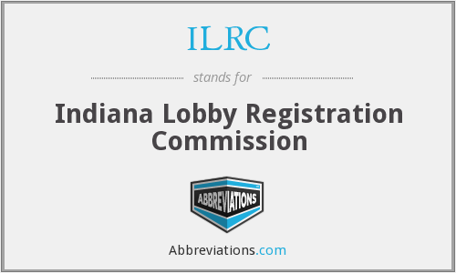 ILRC - Indiana Lobby Registration Commission