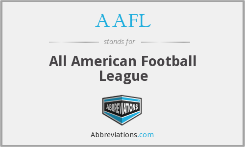 AAFL - All American Football League