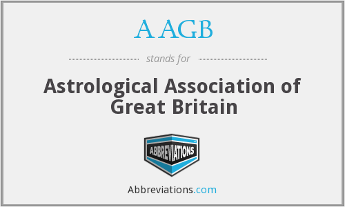 AAGB - Astrological Association of Great Britain