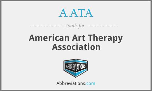 AATA - American Art Therapy Association
