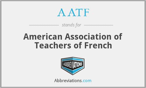 AATF - American Association of Teachers of French
