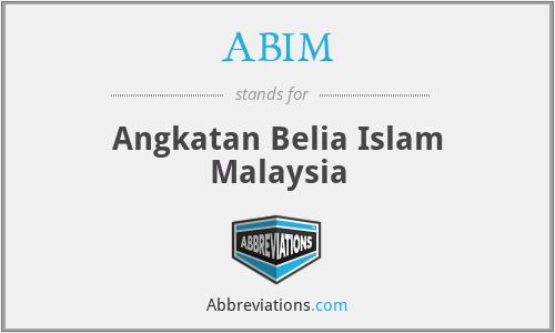 ABIM - Angkatan Belia Islam Malaysia
