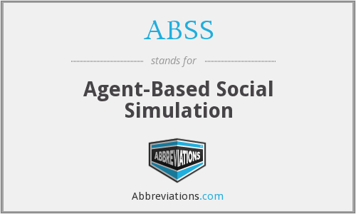 ABSS - Agent-Based Social Simulation