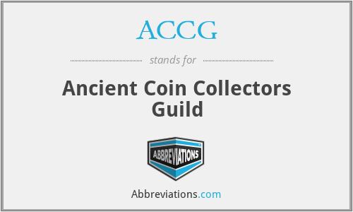 ACCG - Ancient Coin Collectors Guild
