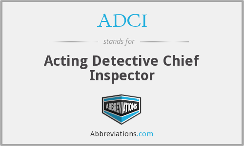 What does ADCI stand for?