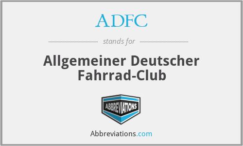 ADFC - Allgemeiner Deutscher Fahrrad-Club