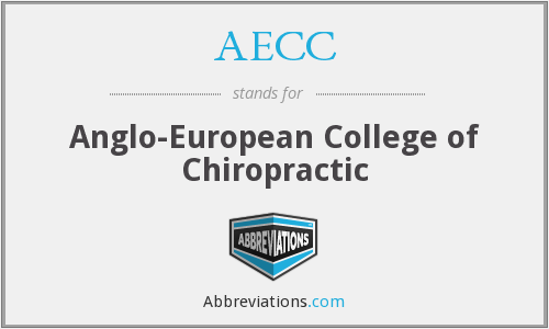 AECC - Anglo-European College of Chiropractic