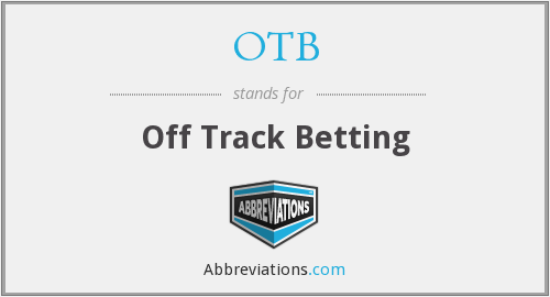 OTB - Off Track Betting