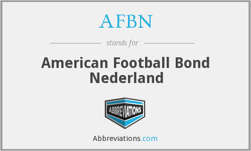 What does AFBN stand for?