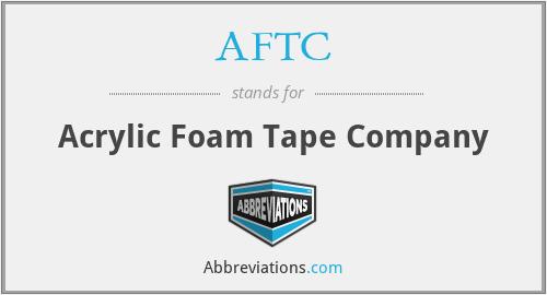AFTC - Acrylic Foam Tape Company
