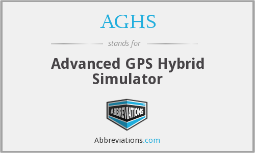 What does AGHS stand for?