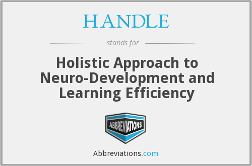 HANDLE - Holistic Approach To Neuro Development And Learning Efficiency