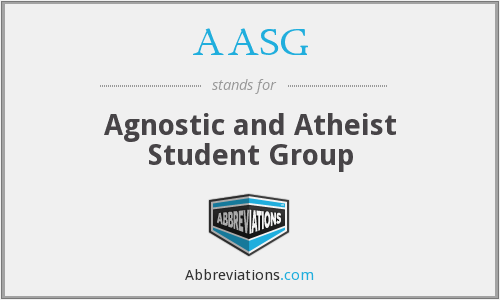 AASG - Agnostic and Atheist Student Group