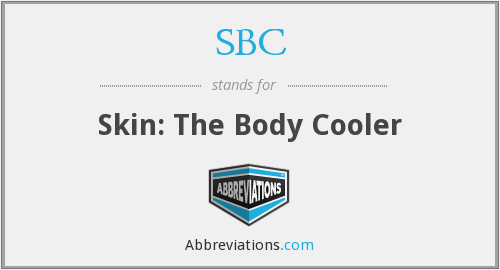 SBC - Skin: The Body Cooler