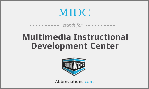 What does MIDC stand for?