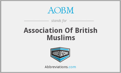 What does AOBM stand for?