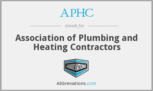 APHC - Association of Plumbing and Heating Contractors