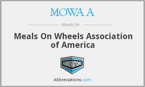 MOWAA - Meals On Wheels Association of America