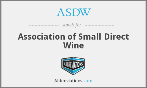 What does ASDW stand for?
