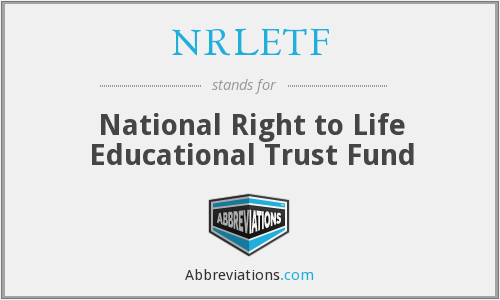 What does NRLETF stand for?