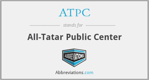 ATPC - All-Tatar Public Center