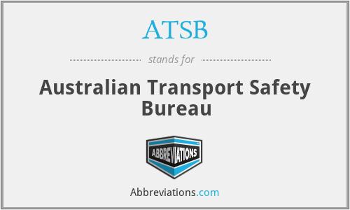 ATSB - Australian Transport Safety Bureau