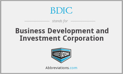 What does BDIC stand for?