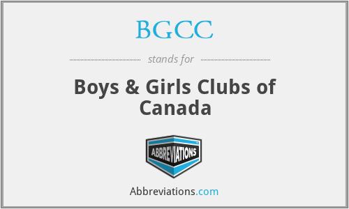 BGCC - Boys & Girls Clubs of Canada