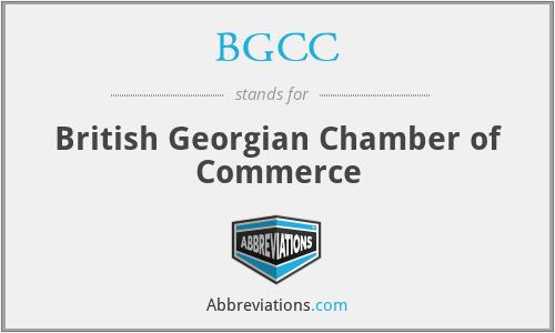BGCC - British Georgian Chamber of Commerce