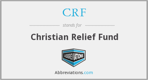 CRF - Christian Relief Fund