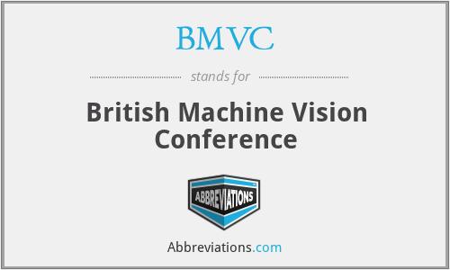BMVC - British Machine Vision Conference