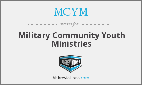MCYM - Military Community Youth Ministries