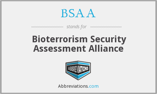 What does BSAA stand for?