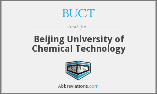 What does BUCT stand for?