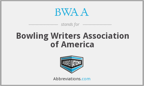 BWAA - Bowling Writers Association of America