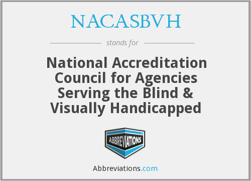 What does NACASBVH stand for?
