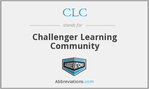 CLC - Challenger Learning Community