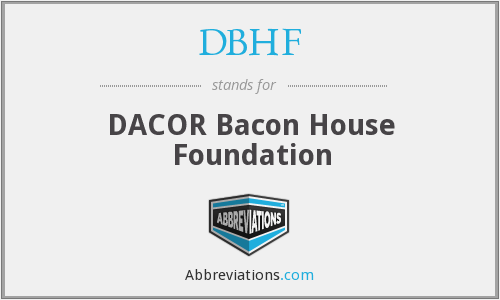 What does DBHF stand for?